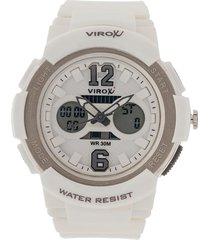 reloj blanco virox