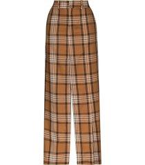 a.w.a.k.e. mode check split detail maxi skirt - multicolour