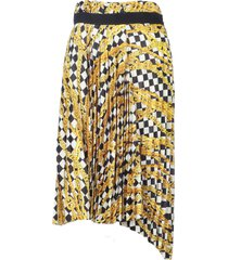 balenciaga elastic skirt