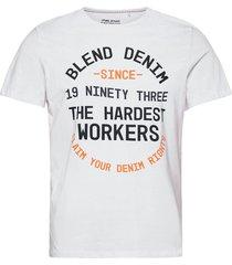 tee t-shirts short-sleeved vit blend