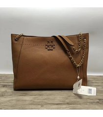 nwt tory burch mcgraw chain shoulder slouchy tote