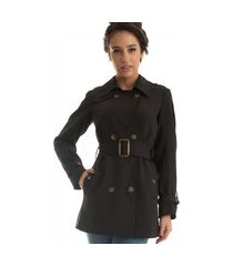 trench coat rigotto new york preto