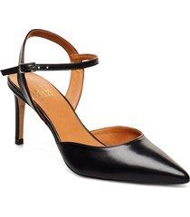 pumps 4595 shoes heels pumps sling backs svart billi bi