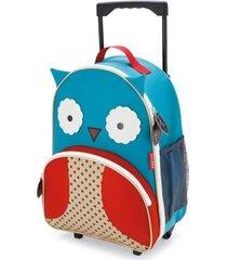 mochila de rodinha infantil skip hop zoo coruja