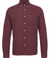 peter lt flannel shirt overhemd casual rood lexington clothing