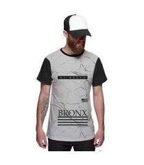 camiseta di nuevo bronx new york street wear masculina
