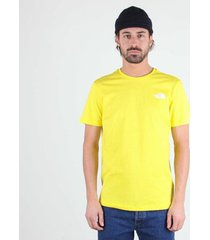t-shirt korte mouw the north face camiseta rainbow para hombre