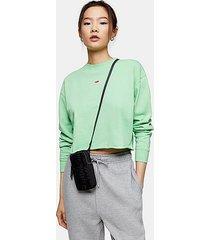 green watermelon sweatshirt - green