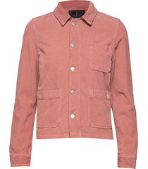 alba jacket jeansjacka denimjacka orange morris lady