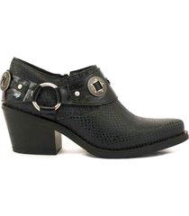zapato negro fragola pura
