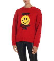 philosophy di lorenzo serafini philosophy - smiley crew neck sweater