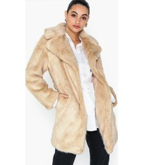 topshop luxe faux fur coat faux fur