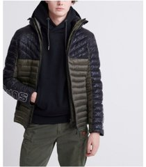 superdry men's color block fuji jacket
