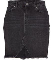 2nd raffe un black kort kjol svart 2ndday