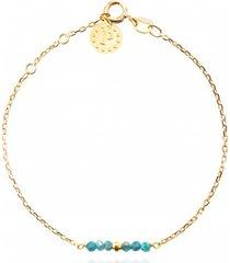 bransoletka z mini kamieniami kolekcja gemma kamień apatyt