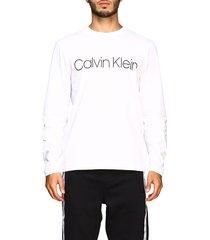 calvin klein t-shirt t-shirt with maxi calvin klein print