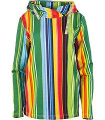 bluza z kapturem paski - unisex.