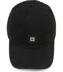 boné hang loose dad cap logo preto