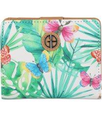 giani bernini butterfly mini bifold wallet, created for macy's