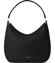kate spade new york roulette large leather hobo bag -