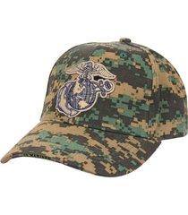 usmc woodland digital camo globe anchor semper fi memorial day baseball hat cap