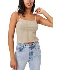 cotton on women's renee rib cami top