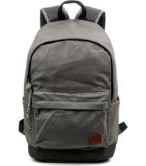 tsd brand women's urban light coated canvas backpack