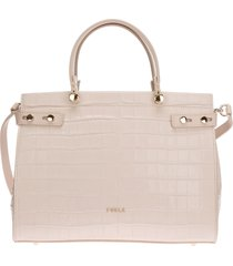 borsa donna a mano shopping in pelle lady m