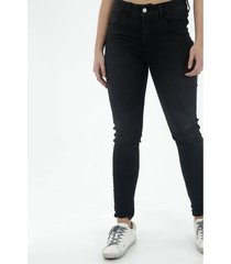 jean para mujer topmark, silueta poppy tiro alto plano cintura con pretina