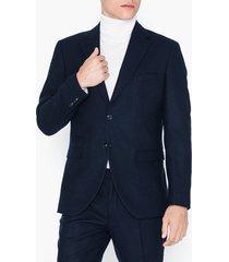 selected homme slhslim-myloiver dk. blue blz b noo kavajer & kostymer mörk blå