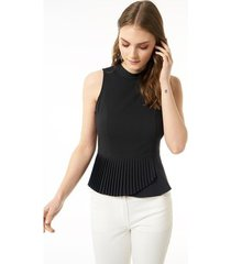 blouse jimmy sanders 19sshtw53025black blouse
