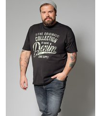 t-shirt men plus antraciet