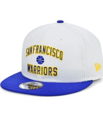 new era san francisco warriors custom 9fifty snapback cap