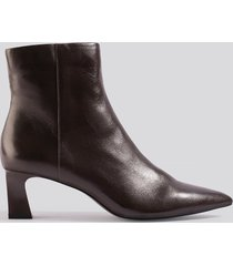 mango inky ankle boots - brown