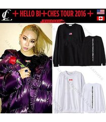 kpop 2ne1 sweatershirt cl hello bitches tour 2016 sweater unisex hoodie pullover