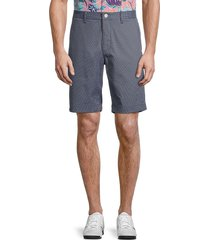 bonobos golf men's highland mini check golf shorts - grey - size 38