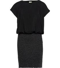 kaaya joy dress kort klänning svart kaffe
