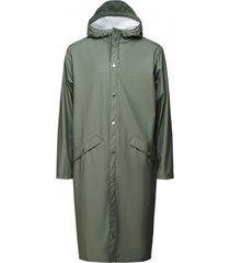 rains regenjas longer jacket olive