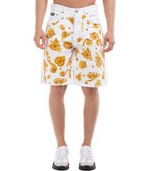 men's shorts bermuda gold baroque