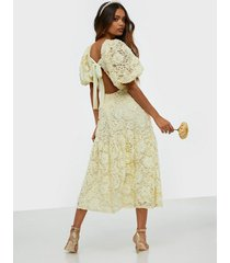 nly trend dreamy maxi dress loose fit
