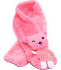 cachecol smm acessorios ursinho rosa