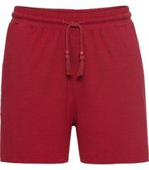 shorts in jersey (rosso) - bodyflirt