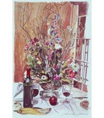 "david lloyd glover sunday brunch spread canvas art - 20"" x 25"""