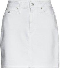 hr mini skirt kort kjol vit calvin klein jeans