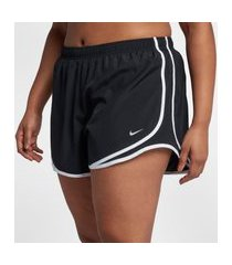 plus size - shorts nike tempo feminino
