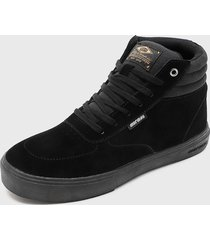 zapatilla urbana king high ii negro mormaii