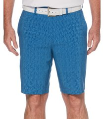 pga tour men's micro-print shorts