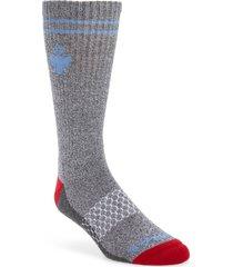 men's bombas originals crew socks, size large - red