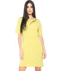 vestido finery london amarelo