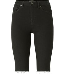 jeansshorts slfida mx skinny black shorts w